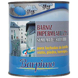 Barniz impermeabilizante pinturas la ver nica - Pintura antihumedad exterior ...