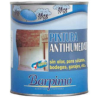 Pintura antihumedad pinturas la ver nica - Pintura antihumedad exterior ...
